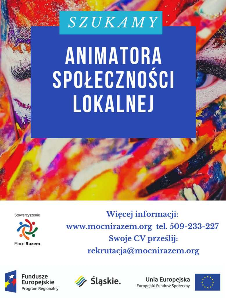 Animator lokalny-oferta pracy