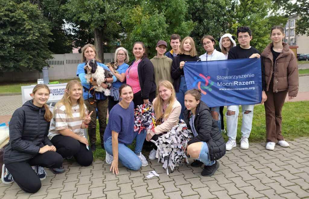 Akcja wolontariuszy Mocni Razem - Zmień Świat Zwierzaka!